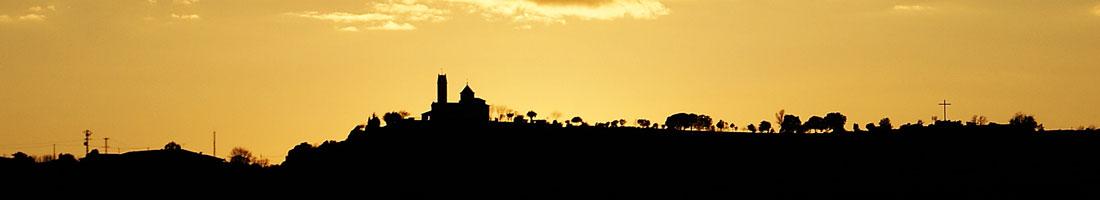 Sant Feliu Sasserra des del campanar de l'Església