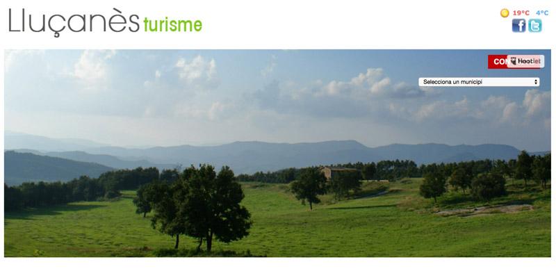 Web de Turisme del Consorci del Lluçanès