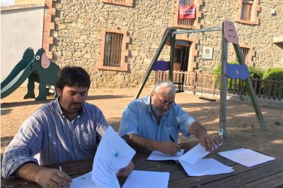 Signatura de conveni de col·laboració amb Tapís