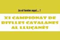 Cartell Campionat Bitlles Catalanes
