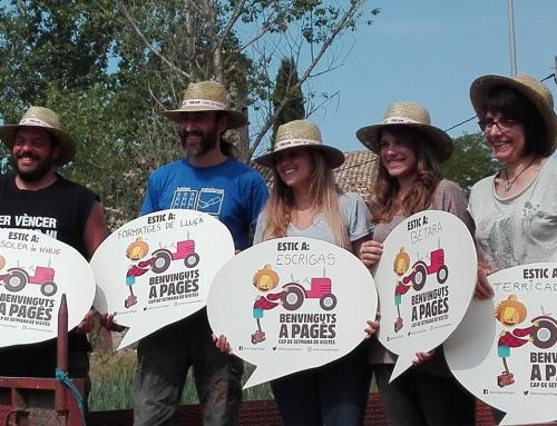 Presentació de la Ruta de la Llet i Benvinguts a Pagès al Lluçanès