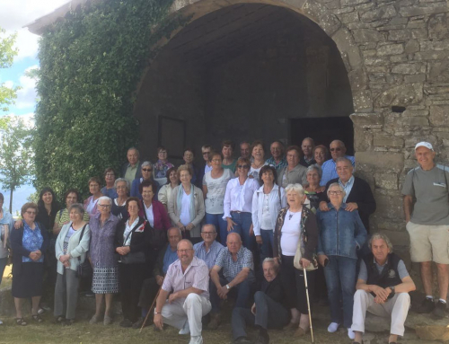 Envelliment Actiu al Lluçanès tanca el curs amb una trobada a Sobremunt