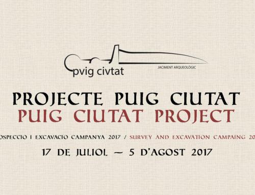 Presentació de la campanya arqueològica Puig Ciutat 2017 (Oristà)