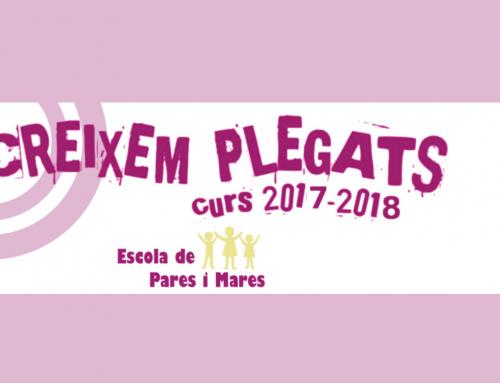 """A punt una nova edició del """"Creixem plegats. Escola de pares i mares"""" al Lluçanès"""