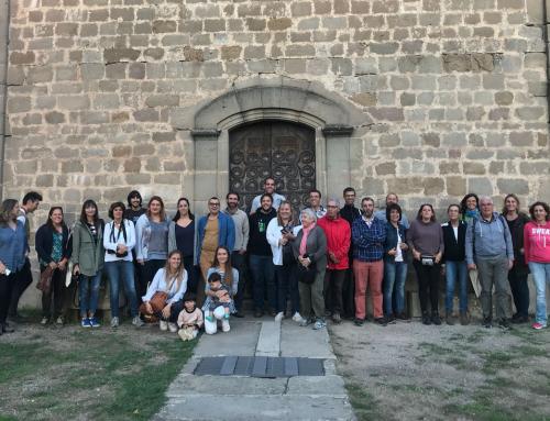 """Més de 40 persones participen del """"blogtrip"""" de la Ruta de la llet"""