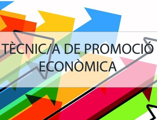 Obrim convocatòria de tècnic/a de promoció econòmica pel Lluçanès