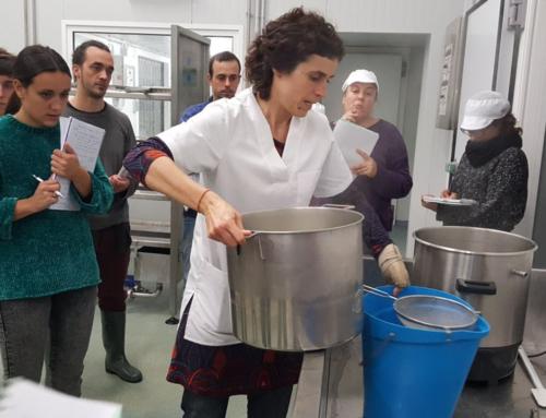 Acaba la fase teòrica–pràctica del curs d'especialització en formatgeria artesana