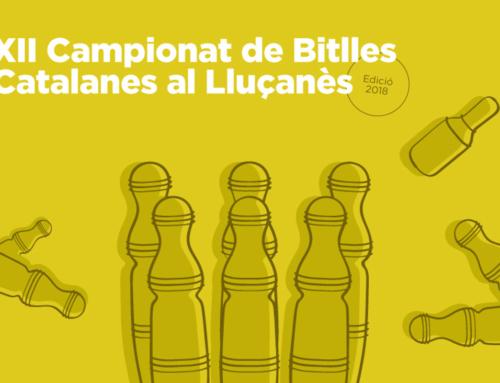 Recta final del XII Campionat de Bitlles Catalanes del Lluçanès