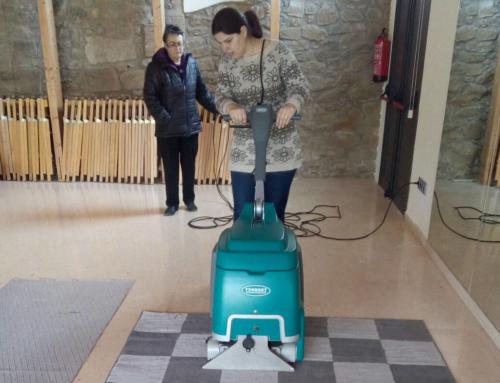 Èxit d'inserció laboral dels alumnes del curs de neteja