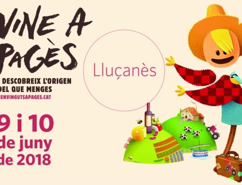 Arriba el Benvinguts a Pagès al Lluçanès