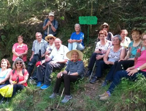Caminada conjunta Sant Agustí-Alpens: de la font del Pi al Molí de Clarà