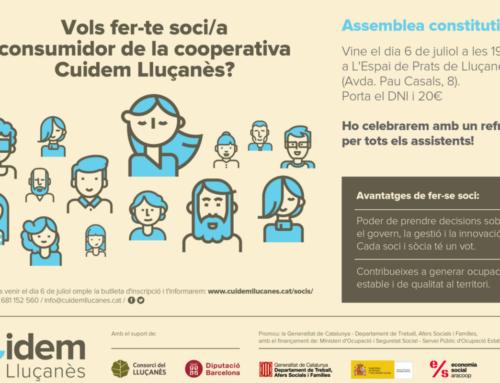 La cooperativa Cuidem Lluçanès es constitueix el divendres 6 de juliol