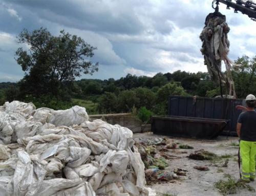 Es quadruplica la quantitat recollida de plàstics agrícoles al Lluçanès