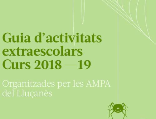 Guia d'activitats extraescolars pel curs 2018-19