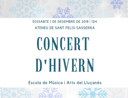 El Concert d'Hivern de l'EMAL girarà entorn als valors d'igualtat, respecte i tolerància