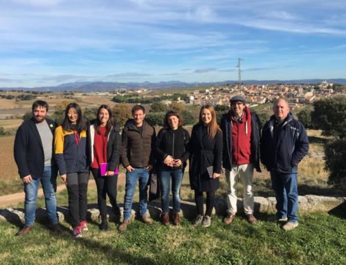 Estudiants de el Màster de Turisme Cultural de la UDG visiten el Lluçanès