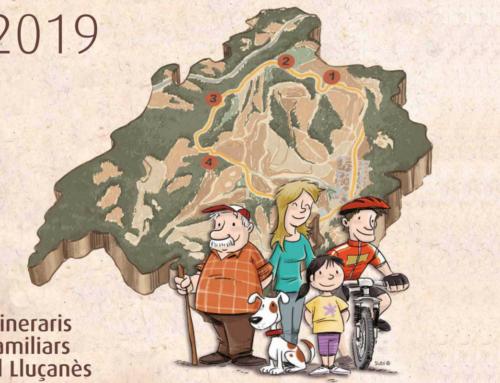El calendari 2019 del Lluçanès es dedica als Itineraris Familiars