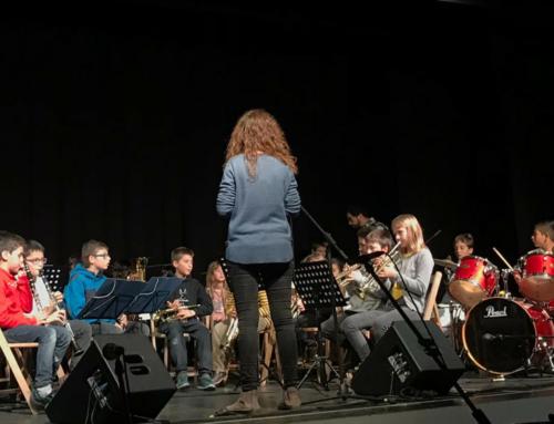 Entranyable concert d'Hivern de l'Escola de Música i Arts del Lluçanès