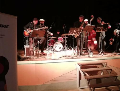 L'INTRÚS tanca la primera edició de concerts de jazz al Lluçanès amb molt bona acollida