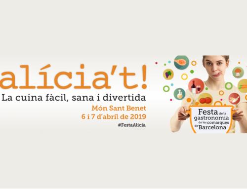 El Lluçanès serà present a la Festa Alicia't