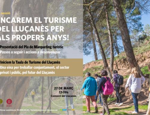 Encarem el turisme del Lluçanès per als propers anys