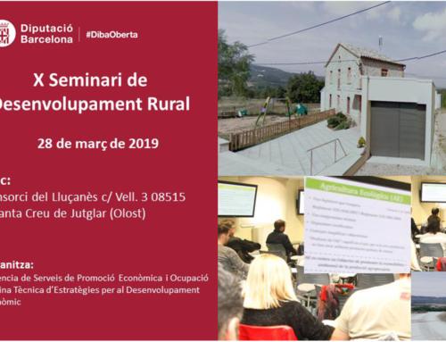 El Lluçanès acull el X Seminari de Desenvolupament Rural