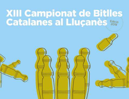 XIII Campionat de Bitlles Catalanes al Lluçanès
