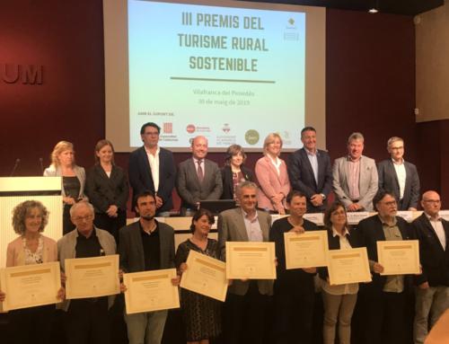 El Consorci del Lluçanès rep el premi de turisme sostenible rural per les rutes agroalimentàries