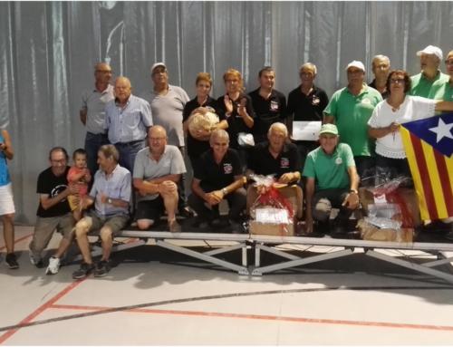 Final del XIII Campionat de Bitlles Catalanes del Lluçanès 2019