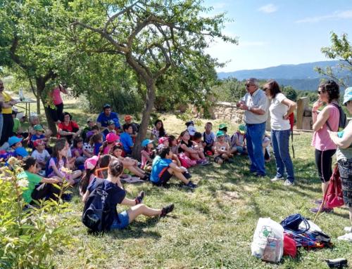"""Finalitza el cicle de sortides del """"Passegem Junts"""" a diferents poblacions del Lluçanès"""