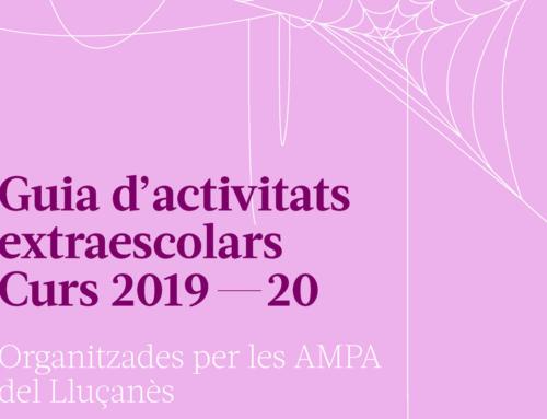 Ja està aquí la Guia d'activitats extraescolars organitzades per les AMPA del Lluçanès