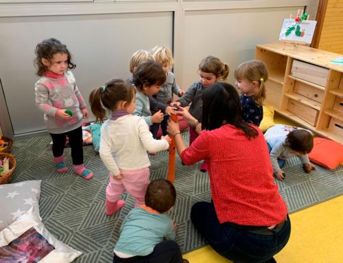 """Les escoles Bressol del Lluçanès participen a la formació """"La Música a l'Escola Bressol"""""""
