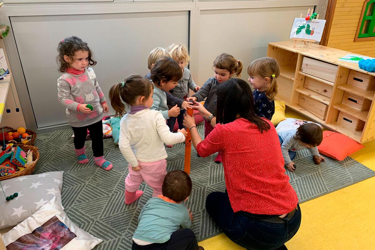 """Les escoles Bressol del Lluçanès participen a la formació """"La Música a l'Escola  Bressol""""   Consorci del Lluçanès"""