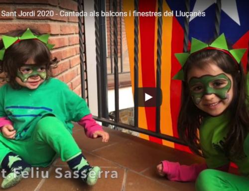 Vídeo resum de la cantada de Sant Jordi als balcons del Lluçanès