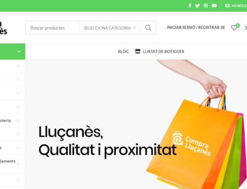 Engega 'Compra Lluçanès', la plataforma virtual del comerç de la comarca