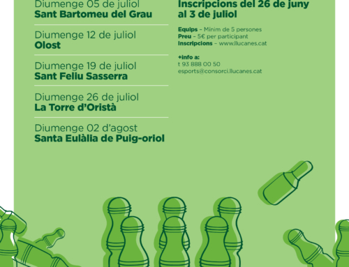 Arriba el XIV Campionat de Bitlles Catalanes al Lluçanès
