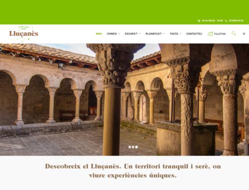 Nova pàgina web de turisme del Lluçanès