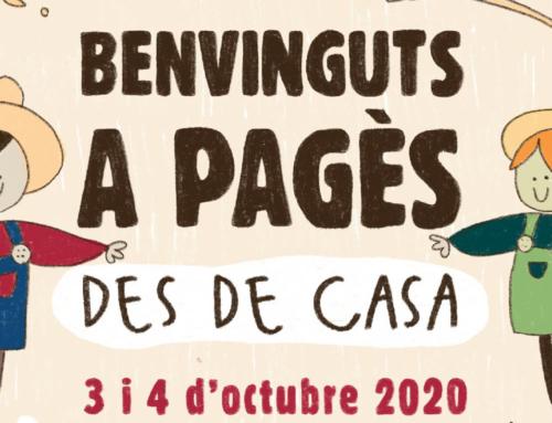 Arriba el Benvinguts a Pagès 2020, una edició virtual
